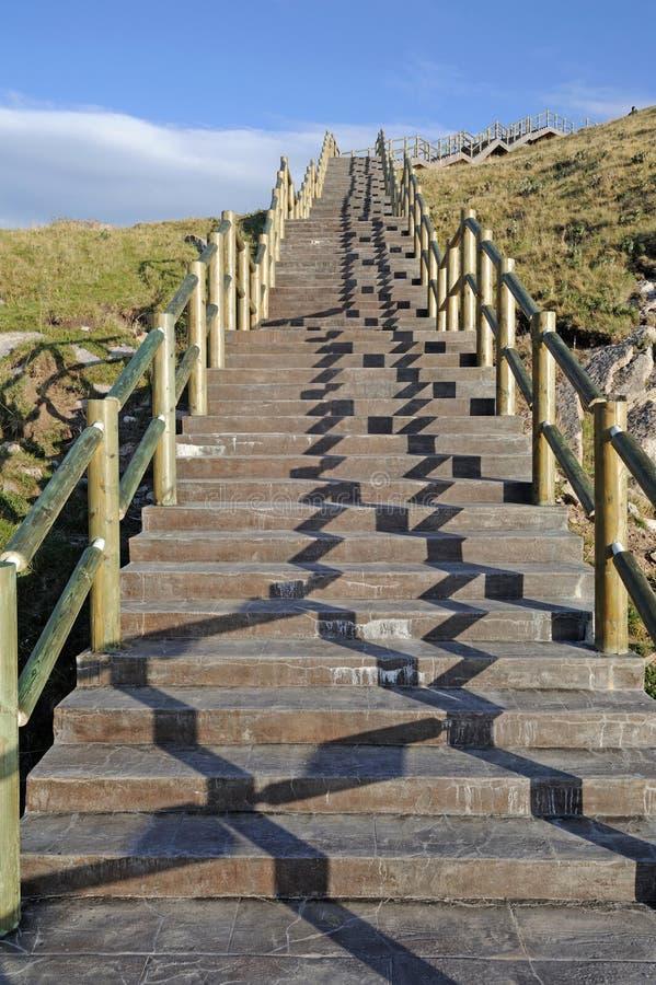 Free Stone Stairs Royalty Free Stock Photo - 32552265