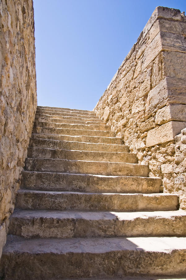 Download Stone stairs stock image. Image of greece, staircase, crete - 9601227