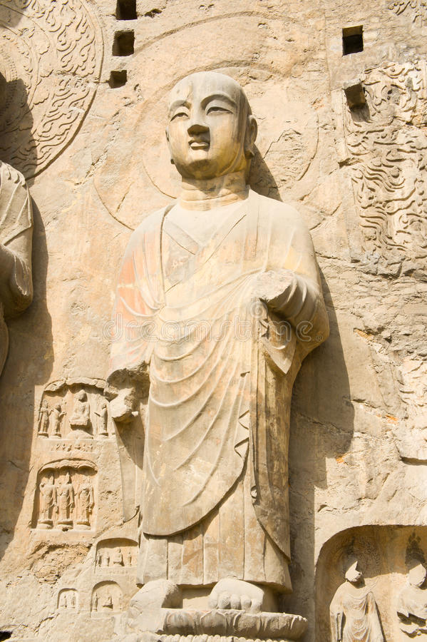 Download Stone statue of buddha stock image. Image of element - 19604877