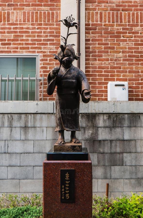 Free Stone Statue Of Jizo In Kawagoe Town Royalty Free Stock Image - 76200006