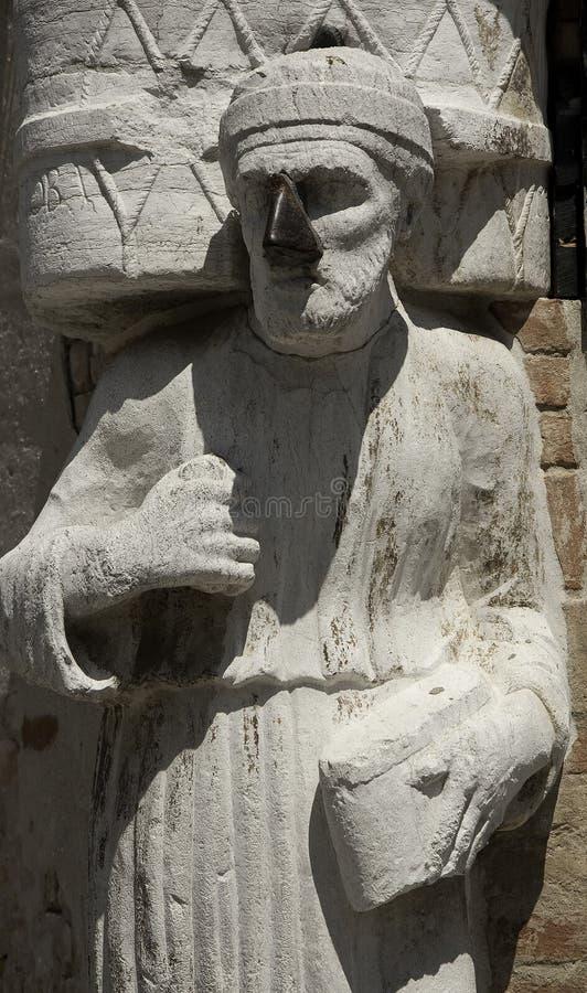Free Stone Statue Of Sior Antonio Rioba, Campo Dei Mori Stock Images - 11600444