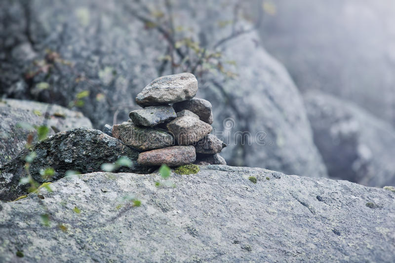 Download Stone still life stock photo. Image of tower, hand, tint - 26391140