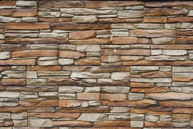 Stone stucco wall stock image