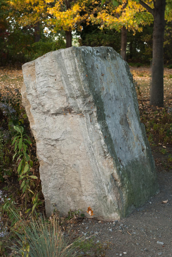 Stone tablet. Blank stone tablet with copyspace stock photography