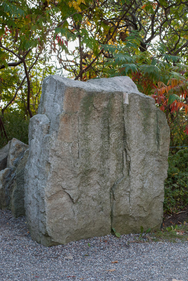 Stone tablet. Blank stone tablet with copyspace royalty free stock photo