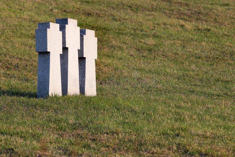 Download Stone Teutonic Crosses On German Military Cemetery In Kharkov, Ukraine Stock Photo - Image: 89956788