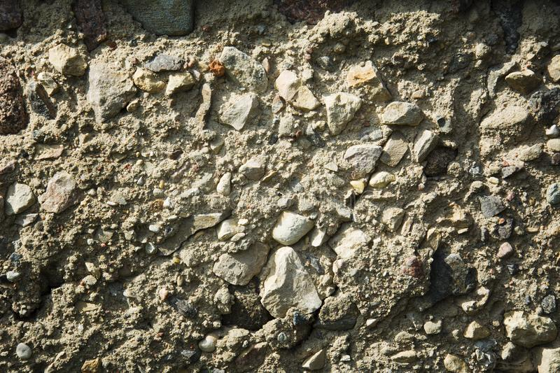Stone texture, large and small stones, background closeup royalty free stock photos