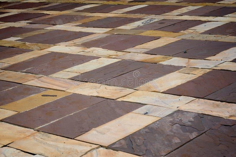 Stone tile pattern royalty free stock photos