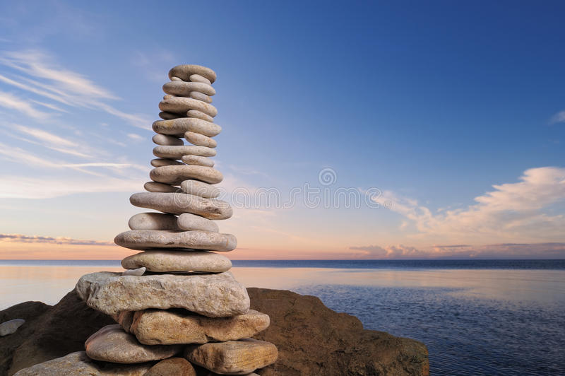 Stone Tower Royalty Free Stock Photos