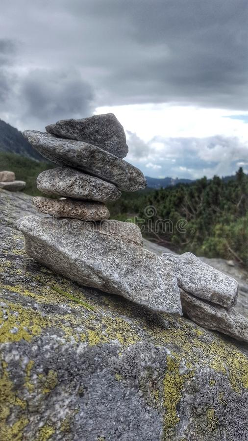 Stone tower royalty free stock images
