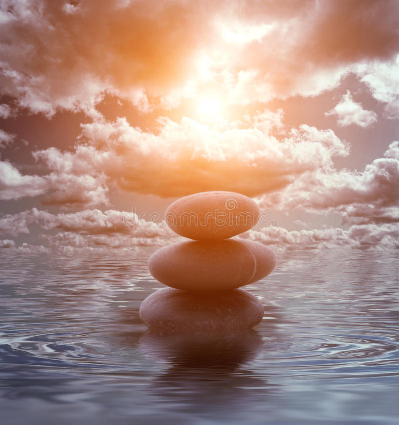 Free Stone Tower In The Sea Royalty Free Stock Photo - 10057595