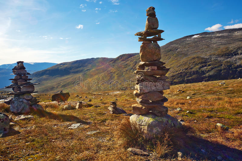 Download Stone towers stock image. Image of vibrant, pyramid, sunset - 24673177