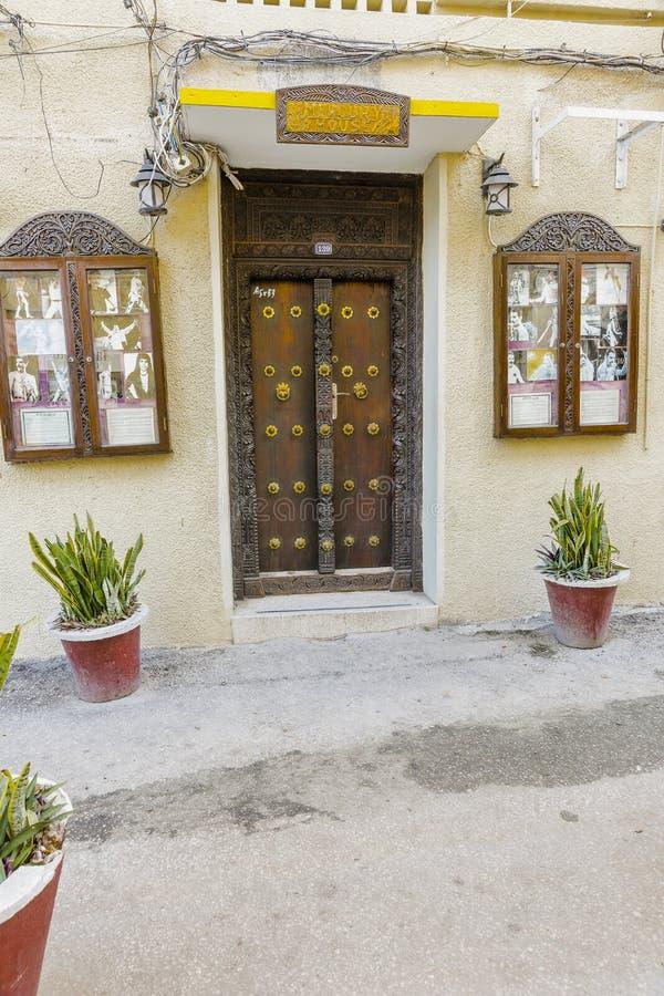 Stone Town Freddie Mercury House. royalty free stock photography