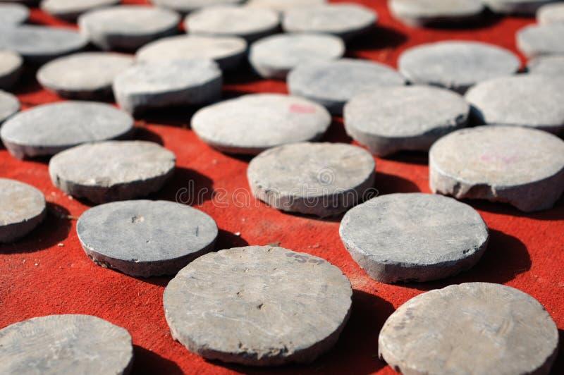 Stone utensils for sale stock image