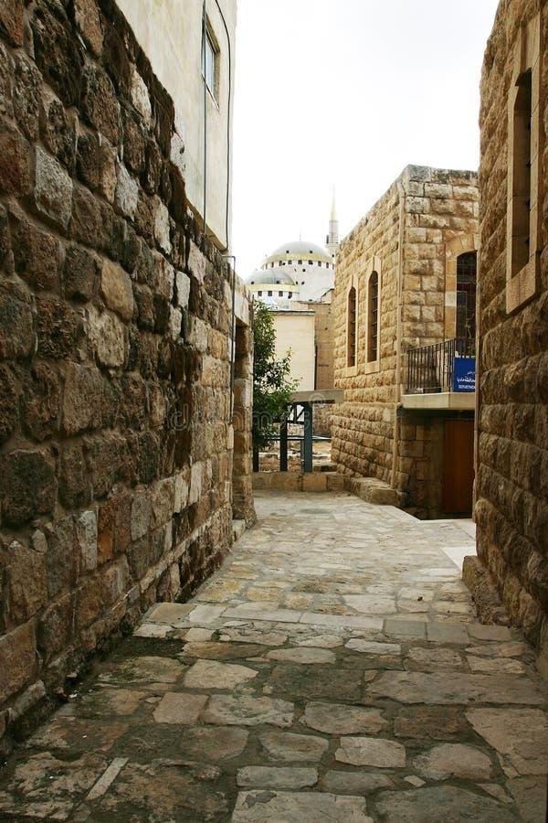 Stone Valley In Jordan Stock Image