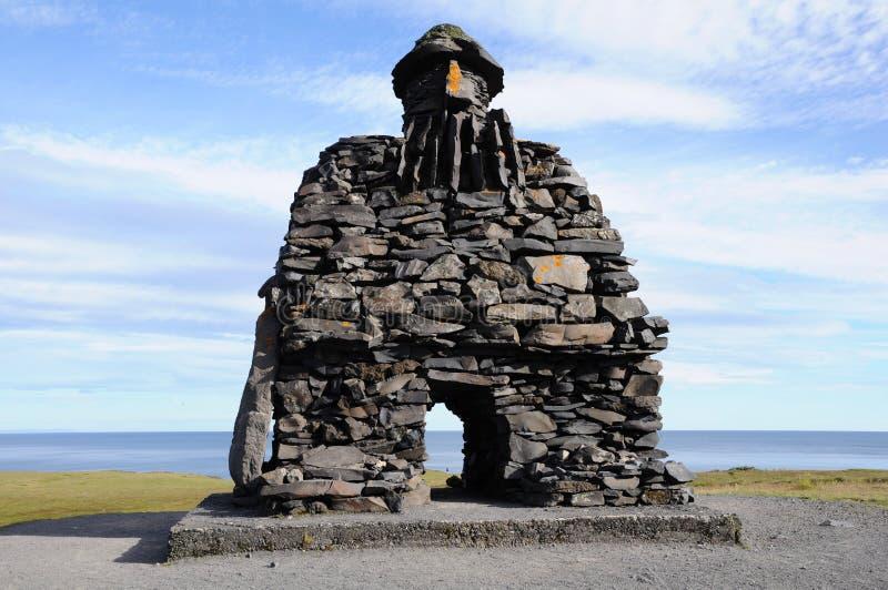 Stone Viking stock images