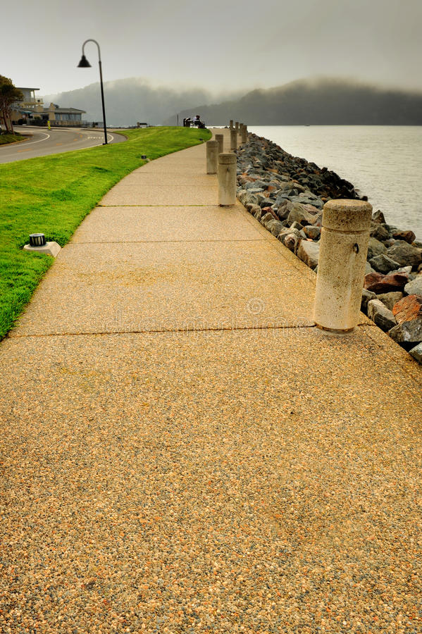 Download Stone Walkway By The San Francisco Bay Stock Photo - Image of keywords, view: 33287374