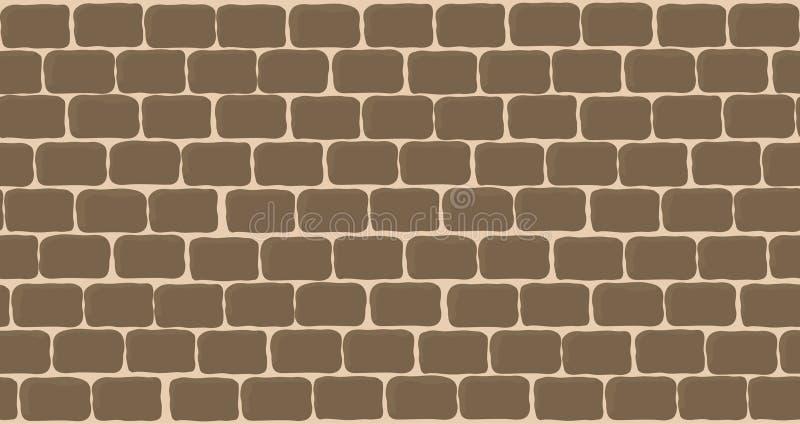 Stone wall vector illustration
