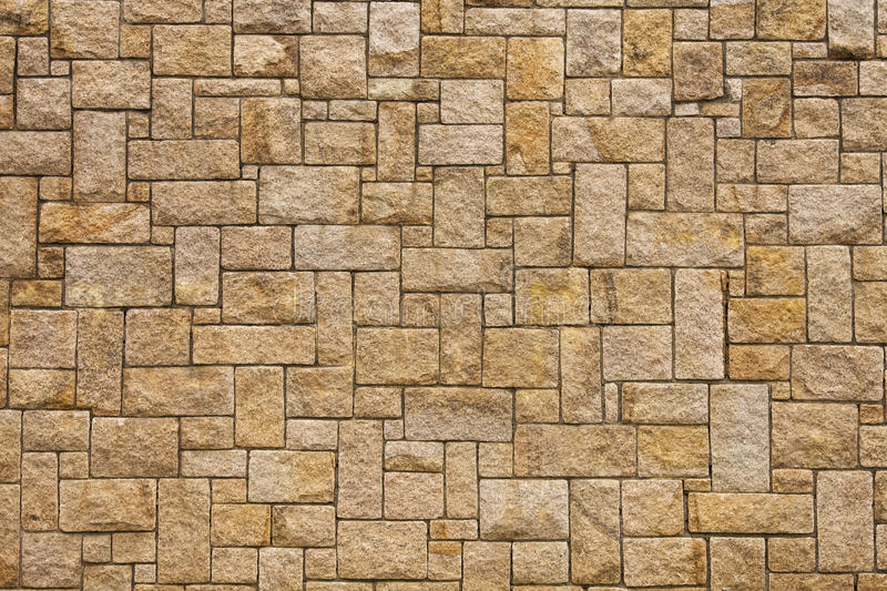 Stone wall. Cladding of the building stock photos