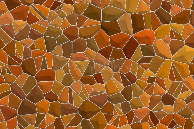 Stone wall. Illustration blockage, texture vector illustration