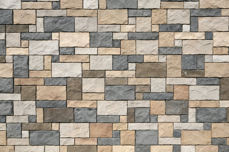Download Stone wall stock image. Image of square, decorate, rectangle - 7141133
