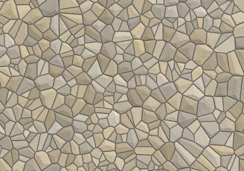 Download Stone wall stock illustration. Illustration of mason, wallpaper - 9319546