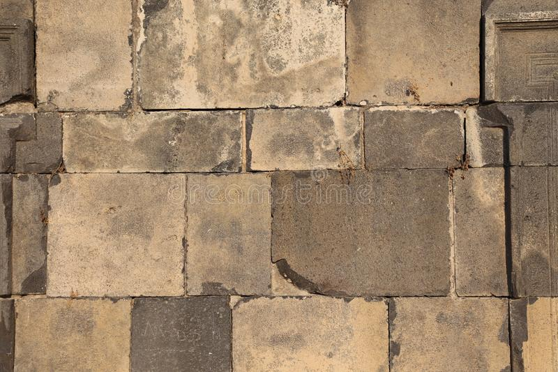 Stone wall abstract stock foto