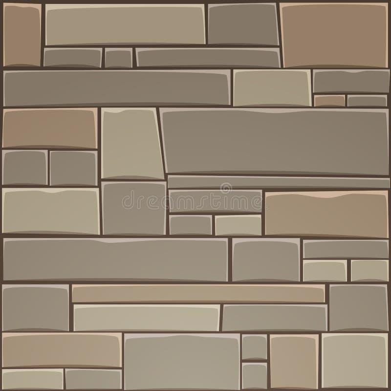 Stone Wall royalty free illustration