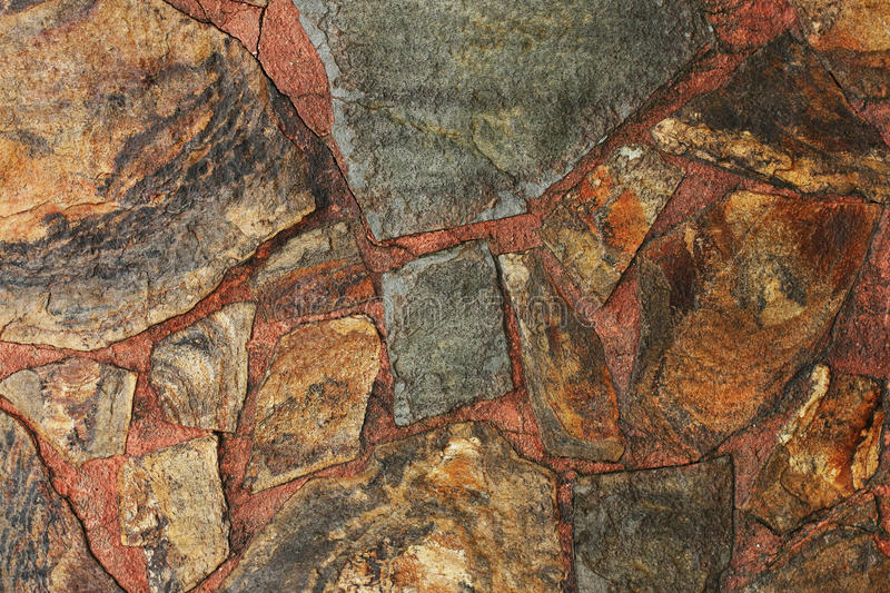 Stone wall detail royalty free stock photography