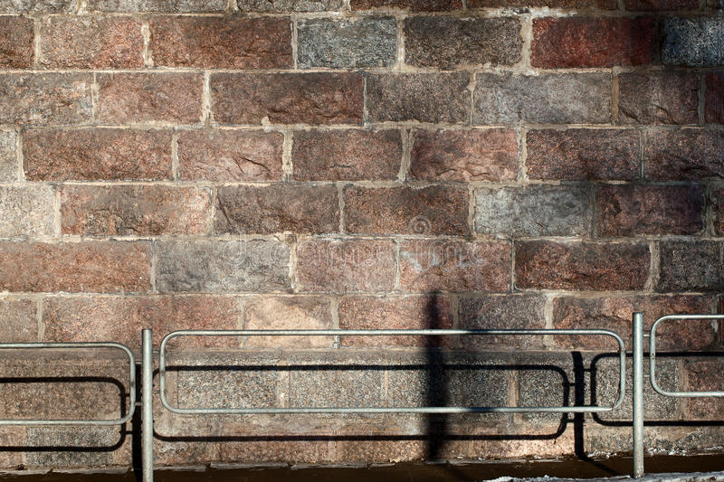 Download Stone wall and fence stock image. Image of barrier, facade - 23630889