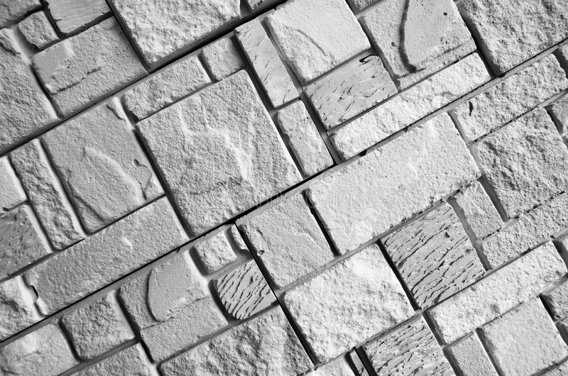 Stone wall fragment royalty free stock images