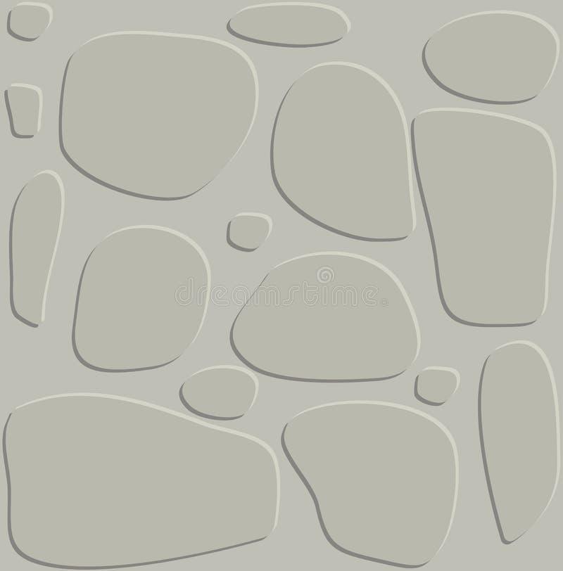 stone wall game texture beautiful banner wallpaper design illustration stock illustration