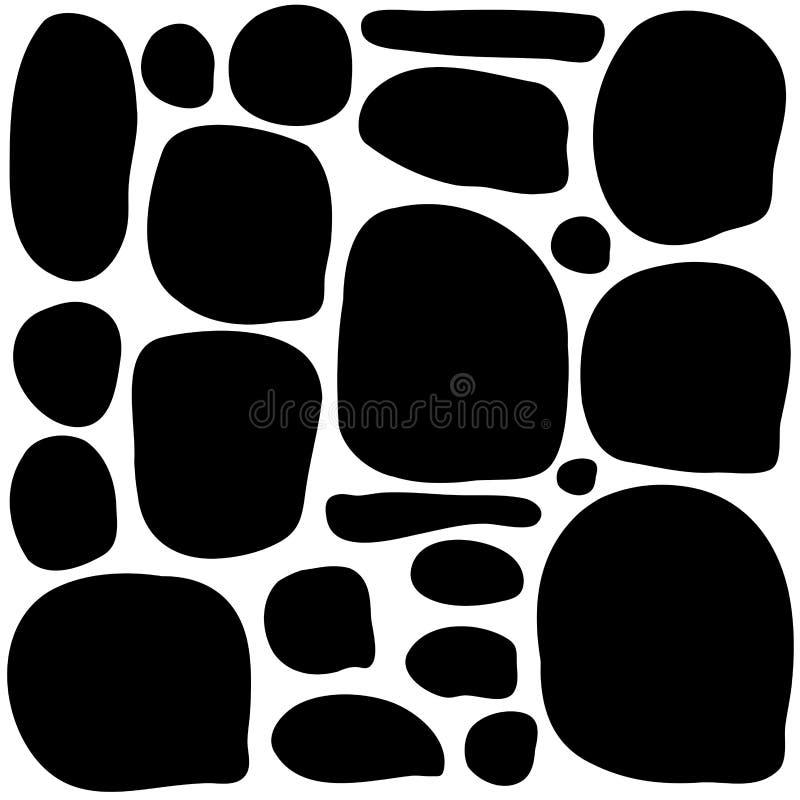 Stone wall game texture beautiful banner wallpaper design illustration vector illustration