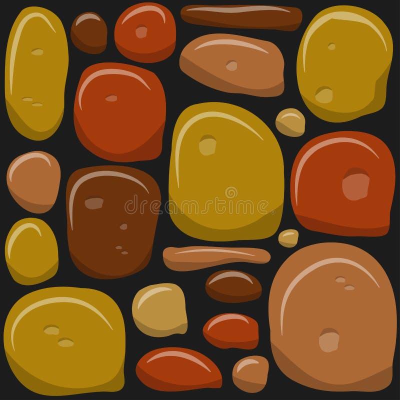 stone wall game texture beautiful banner wallpaper design illustration royalty free illustration