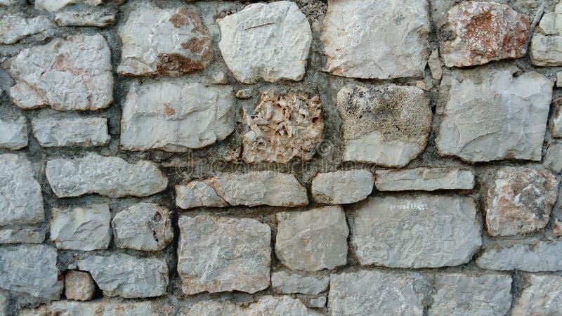 Stone wall like mosaic stock photos