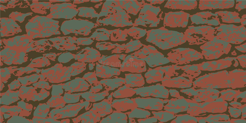 Stone wall. Masonry of stones. Vintage background. Vector illustration eps-10 stock photo