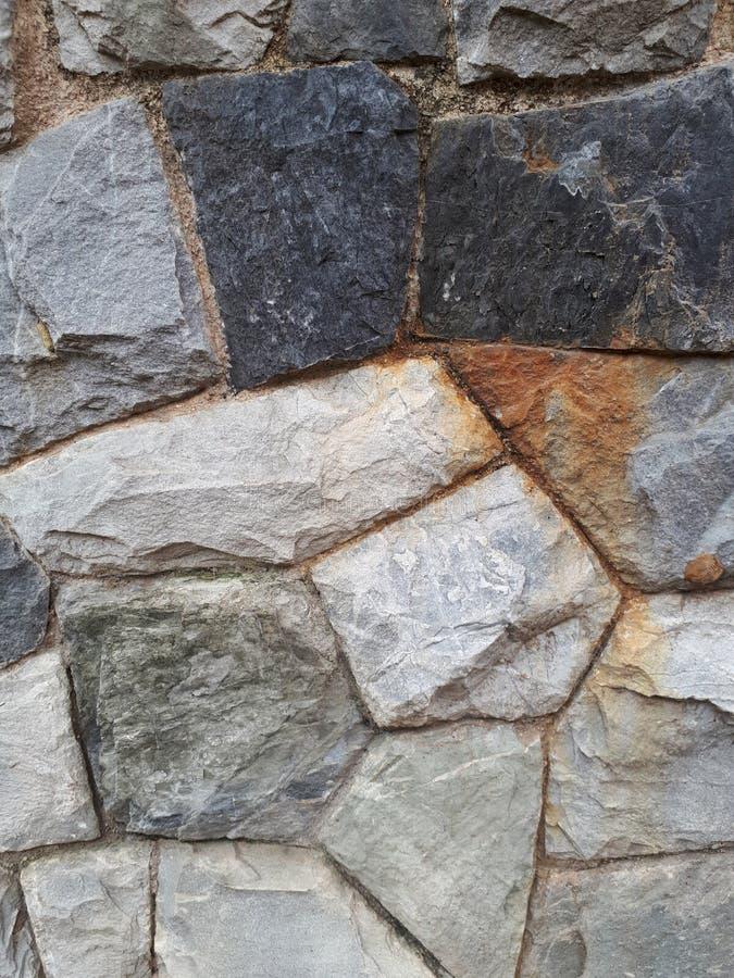 Stone pattern. Stone wall pattern royalty free stock photo