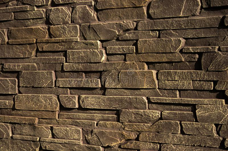 Stone wall of sandstone royalty free stock photos