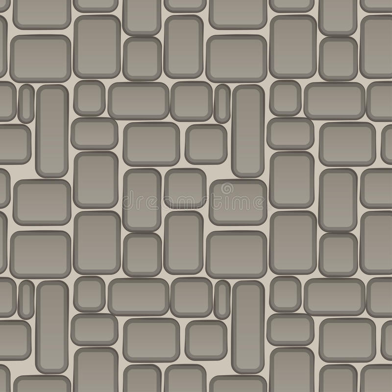 Stone wall seamless texture beautiful banner wallpaper design il. Lustration vector illustration