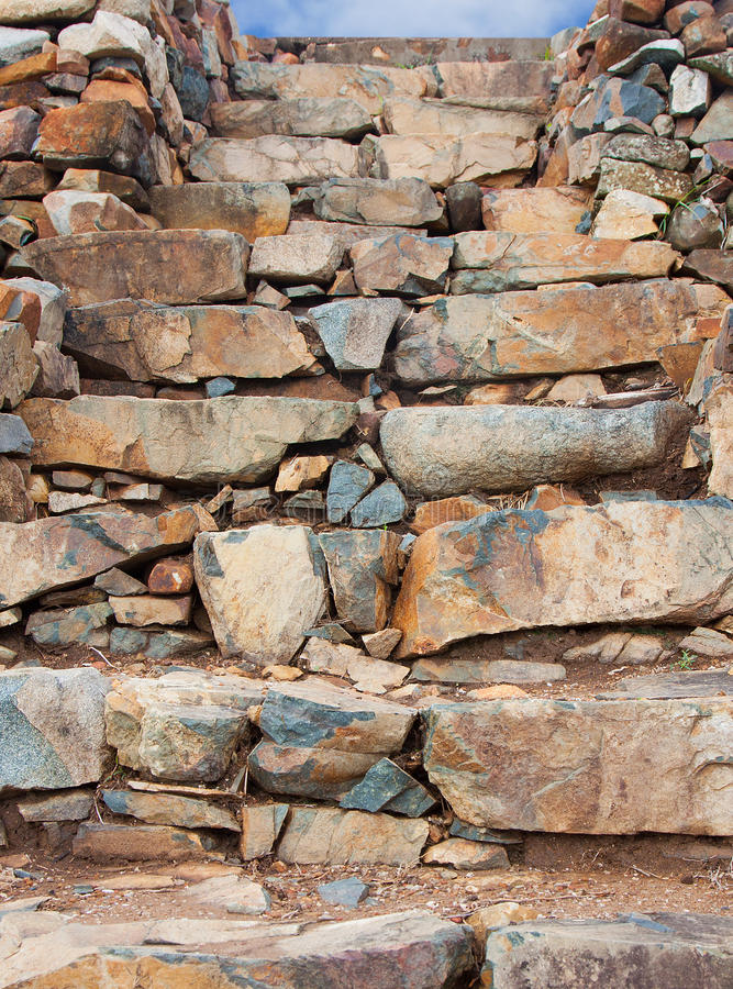 Download Stone wall steps stock image. Image of build, exterior - 24325165