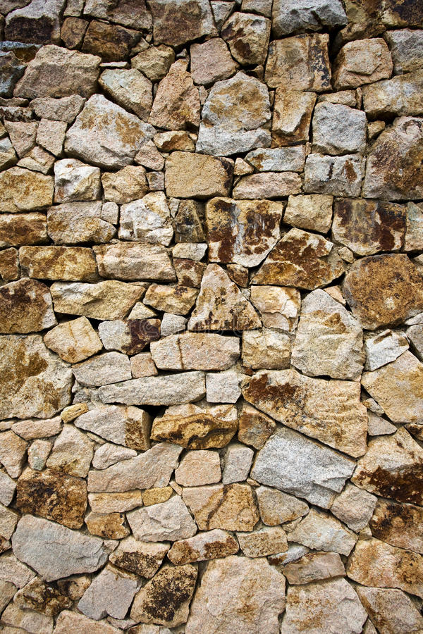 Stone wall texture. Cladding of the building royalty free stock images