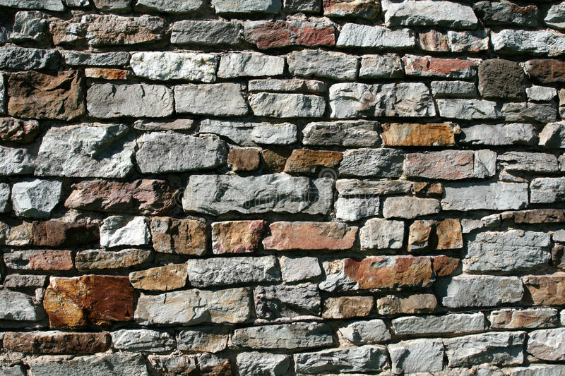 Stone wall texture or background stock photos