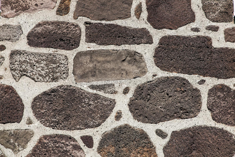 Stone wall texture. Big rock pieces royalty free stock images