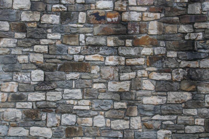 Stone wall texture. Grey stone texture. This image was taken in Veliko Tarnovo, Tsarevets medieval Fortress royalty free stock photos