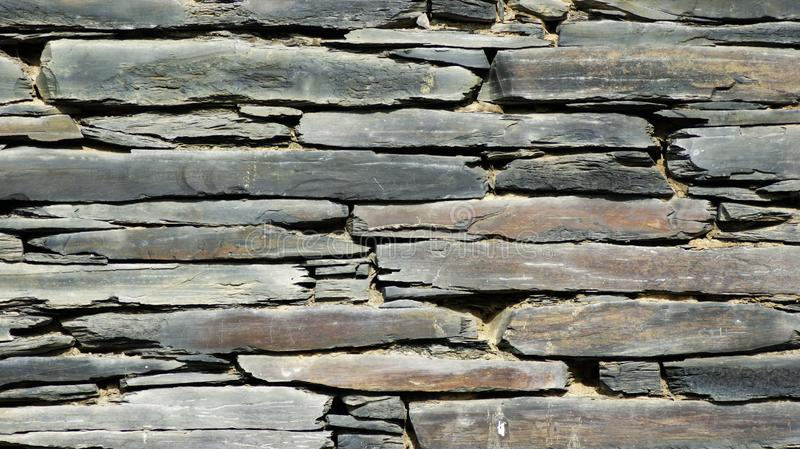 Stone wall for texture stock image