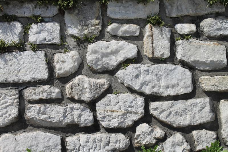 Stone wall texture. stock photos