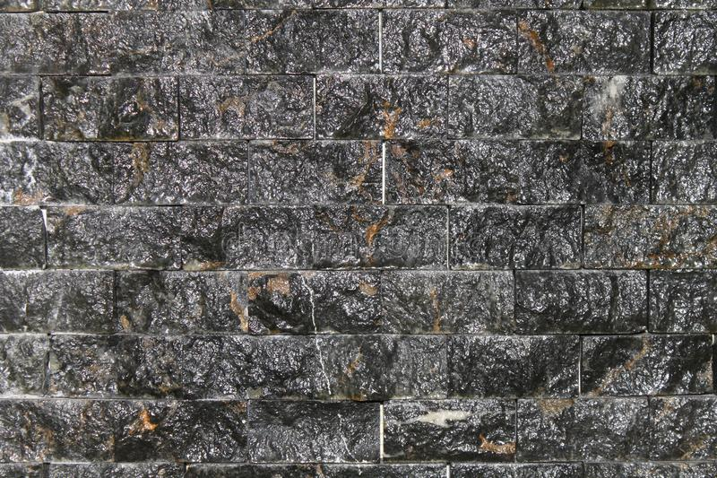 Stone Wall Texture. Ideal to use as background royalty free stock image