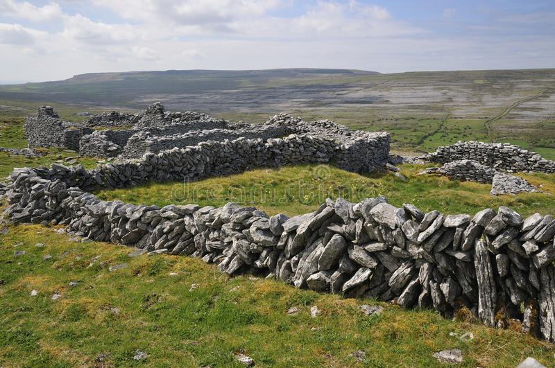 Stone Walls Royalty Free Stock Images