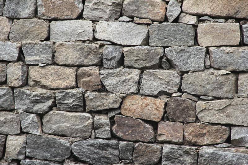 Stone walls. stock photos