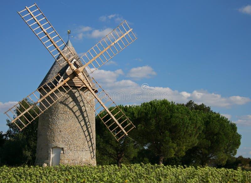 Stone Windmill Royalty Free Stock Photography